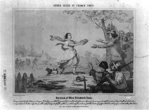 Betty Zane's dash for gunpowder, Second Siege of Fort Henry, 1782