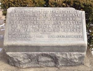 Fort Henry marker