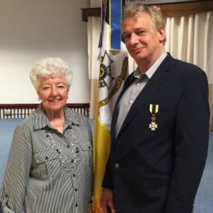 Mrs. Jeanne S. Carter and chapter genealogist David G. McIntire presented a tour and program on Monument Place, Col. David Shepherd and Moses and Lydia Boggs Shepherd, September 19, 2015