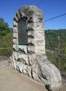 McColloch's Leap monument