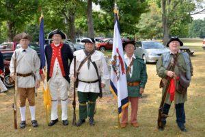 WVSSAR Color Guard Fort Laurens 07.30.16