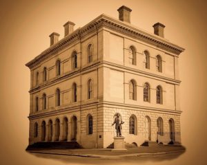 West Virginia Independence Hall and Francis H. Pierpont Statute